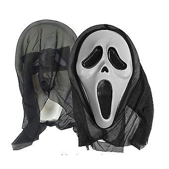Halloween ansigt skrige maske til Cosplay kostume Halloween fest dekoration