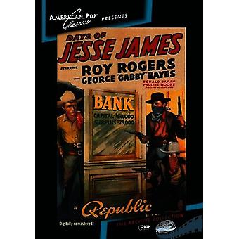 Giorni di Jesse James [DVD] USA importare