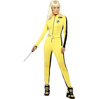 Kill Bill puku morsian hyvät Tarantino alkuperäinen haalarit