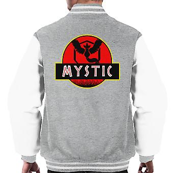Team Mystic Jurassic Park Pokemon Go Men's Varsity Jacket