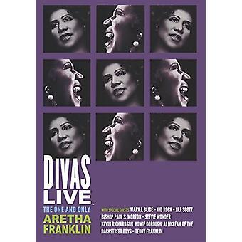 Aretha Franklin - importation USA Divas [DVD]