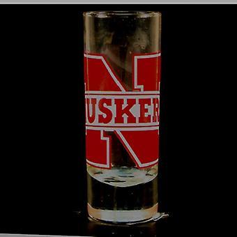 "Nebraska Cornhuskers NCAA ""Hype"" Tall Shot Glass"