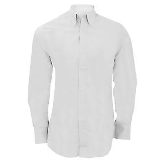 Kustom Kit Mens City Long Sleeve Business Shirt