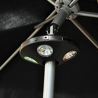 16 o jardim luz LED sombrinha guarda-chuva do pátio grama varanda terraço festa
