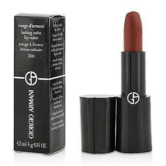 Giorgio Armani Rouge D ' Armani kestävä Satiini huuli väri-# 300 Gio-4G/0,14 oz