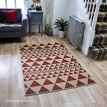 Moda Prisma punainen matto