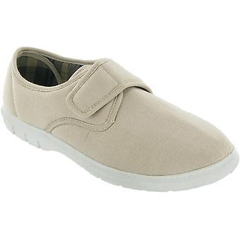 Mirak メンズ ハーヴェイ キャンバス カジュアル繊維 Plimsoll スタイル靴ホワイト