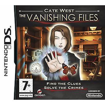 Cate West de forsvindende filer (Nintendo DS) - som ny