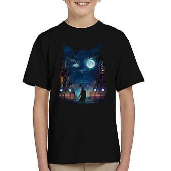 Blade Runner Replicant Owl Kid's T-Shirt