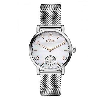 s.Oliver Damen Uhr Armbanduhr SO-3078-MQ