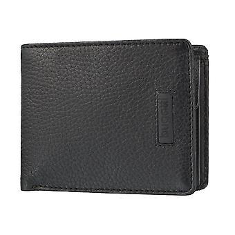 Bugatti PREGIO mäns uppenbara väska handväska plånbok väska svart 3613