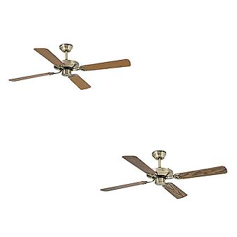 Deckenventilator Yakarta Messing 121cm / 48