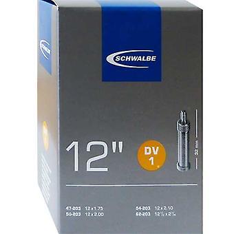 SCHWALBE DV 1 cykel tube 12″