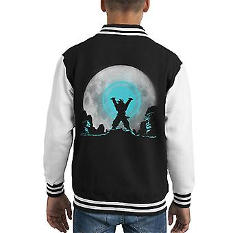Dragon Ball Z Spirit Bomb Kid's Varsity Jacket