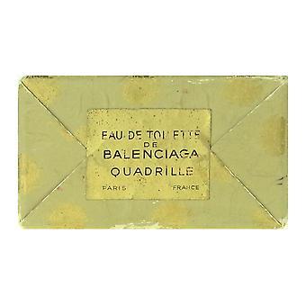 Balenciaga Quadrille Eau De Toilette Splash 4.0Oz In Box (Damage Box)