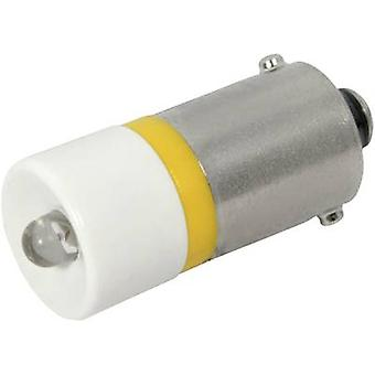 CML LED indicator light BA9S Yellow 12 V DC 700 mcd 186002 B2C
