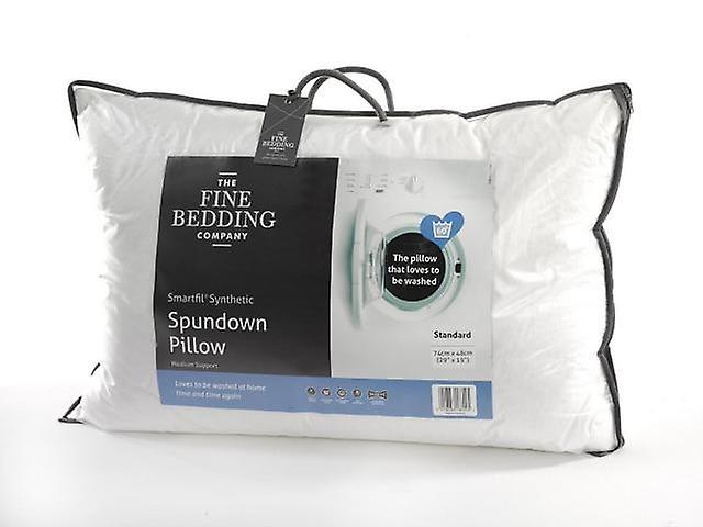 The Fine Bedding Company Spundown Medium Support Pillow Non-Allergenic