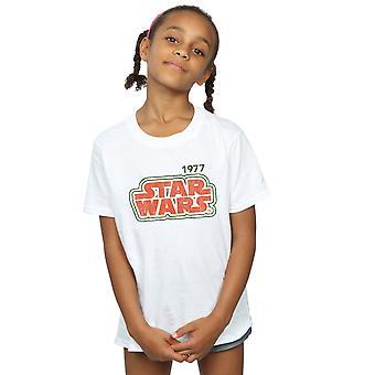 Star Wars Girls Retro ääriviivat t-paita