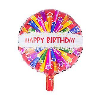 Balloon and balloon accessories  Foil Balloon Happy Birthday (52.5 * 46)