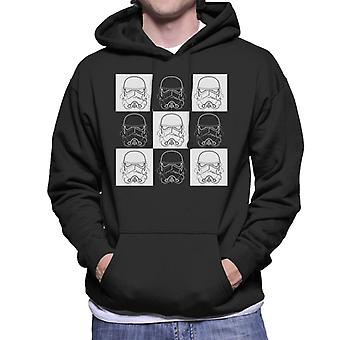 Original Stormtrooper Vice Versa Helmets Men's Hooded Sweatshirt