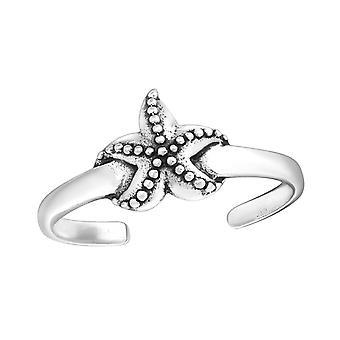 Αστερίας-925 ασήμι στερλίνας δαχτυλίδια ποδιού-W27626X