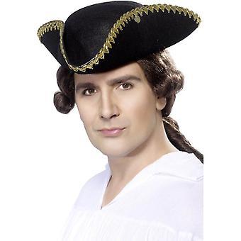 Smiffy's Dick Turpin Tricorn Hat
