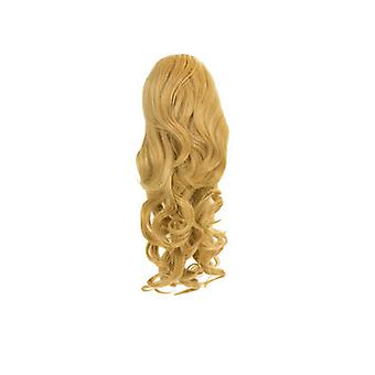 IKRUSH Womens Alea Extreme Volume Curly ClipPonytail