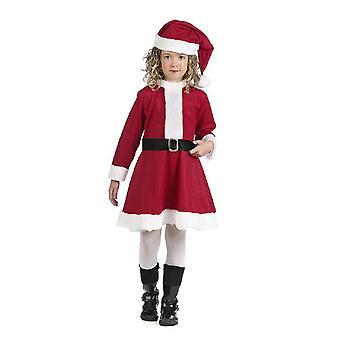 Liten Christmas fru drakt barn Nikolausin Nicholas kjole barn kostyme