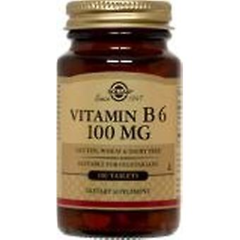 Solgar Vitamin B6 100 mg Tablets 100ct