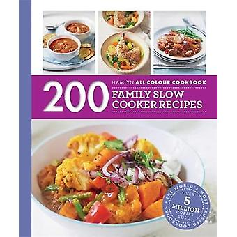 200 familj långsamma spis recept - Hamlyn All färg Cookboo av Sara Lew