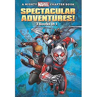 A Mighty Marvel Chapter Book Spectacular Adventures!: 3 Books in 1!