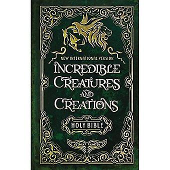 NIV incroyables créatures et créations Sainte Bible, livre relié