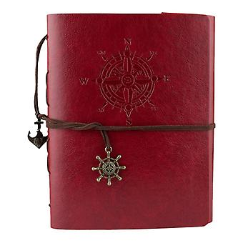 Photo Album/Scrapbook with Adventure theme-Red