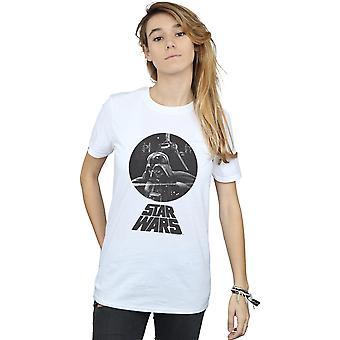 دارث فيدر التمثال صديقها حرب النجوم للمرأة تناسب القميص