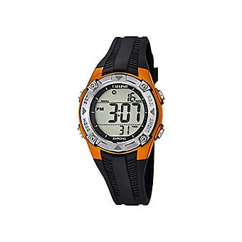 Calypso-Unisex digital watch with LCD Digital Display and plastic strapping, color: black, 7 K5685
