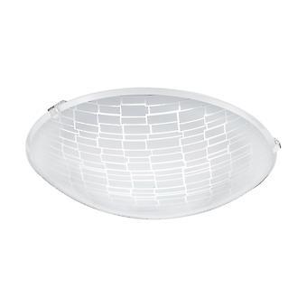 Eglo - Malva 1 LED satinato vetro decorativo del soffitto luce EG96084