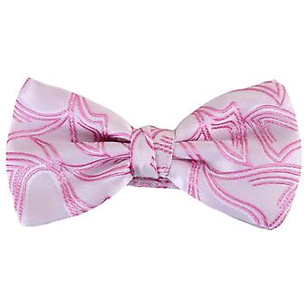 Knightsbridge cravatte Papillon poliestere motivo - rosa chiaro