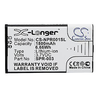 Batterie de batterie batterie X-plus longue batterie pour Nintendo 3DSLL DSXL2015 nouvelle batterie de remplacement 3DSLL SPR-001 accu