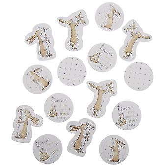 Guess How Much I Love You Table Confetti 14g Christening 1st Birthday