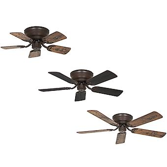 Flush mount Ceiling fan Classic FLAT III Bronze