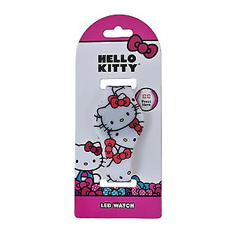 Ciao Kitty tutto stampa LED Watch