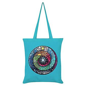 Grindstore Stained Glass Spectroscope Tote Bag