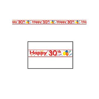 Happy 30th Birthday Party Tape