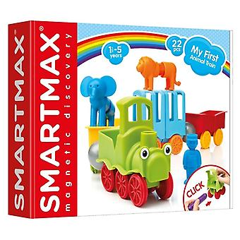 SmartMax My First Animal Train Magnetic Building Set 22 PCs