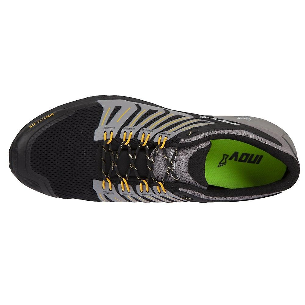 Inov8 Roclite 275 Mens G-grip Cushioned Trail Running Shoes (graphene) Black/yellow