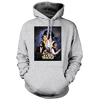 Womens Hoodie - Star Wars - Movie - Poster