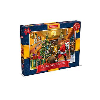 Waddingtons A Christmas Delivery 1000 Piece Puzzle