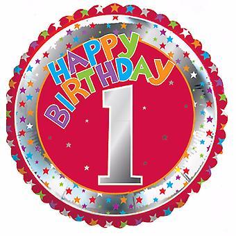 Creative Party Happy 1st Birthday Milestone Balloon