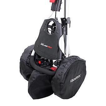 Masters Golf Trolley Wheel Cover Set Approprié Pour 2 Ou 3 Roue