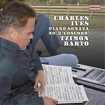 Ives / Barto, Tzimon - Ives: Piano Sonata No. 2 Concord [CD] USA import